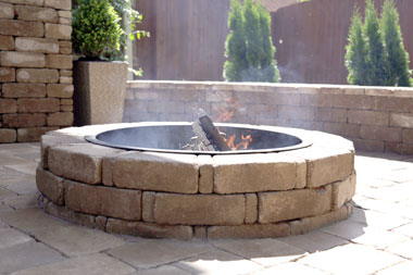 How To Build A Backyard Fire Pit With Pavers Jackson County Times